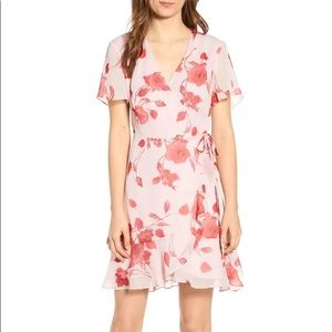 All In Favor • Isabella Floral Wrap Minidress